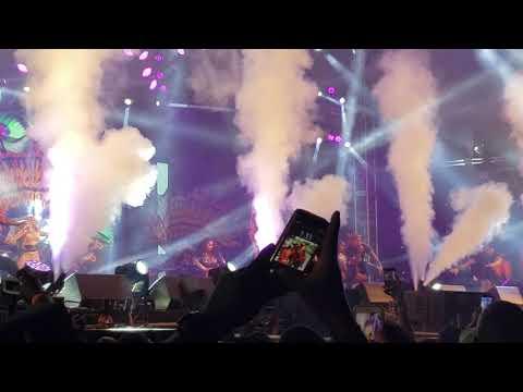 Ashanti performs at machel Monday 2019