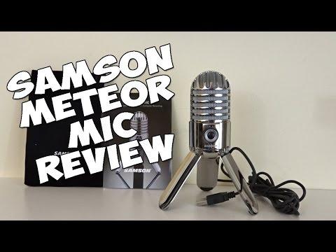 Samson Meteor Mic ОБЗОР