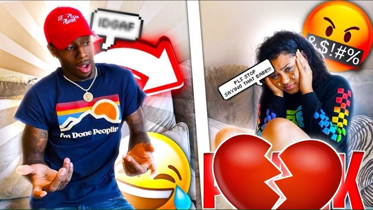 TELLING MY FIANCÉ IDGAF TO SEE HER REACTION *BAD IDEA*