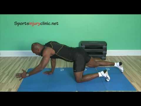 Pilates core exercises 4 Point Kneeling Exercise
