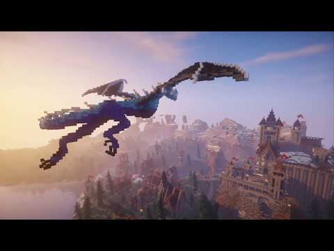 How To Build A Dragon In Minecraft | Simple! No Commands! Building Tutorial!