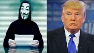 Anonymous Declares War on Trump with #OpTrump