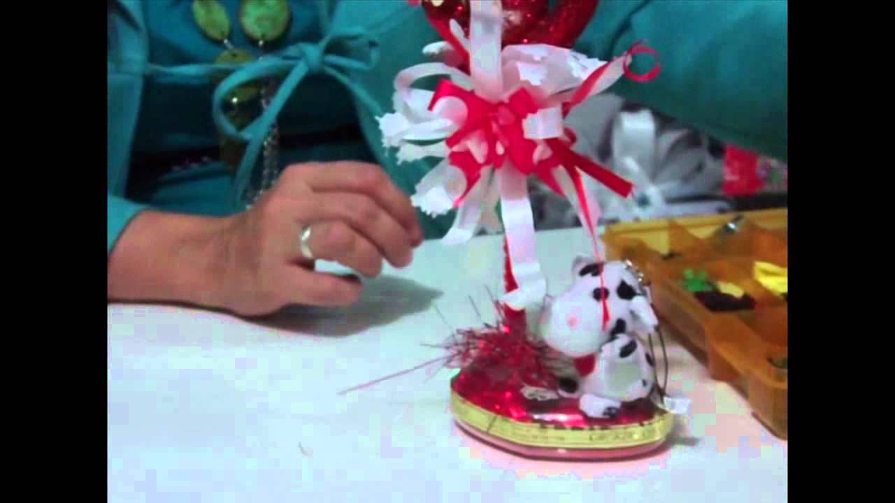 Como hacer regalo para dia de los enamorados - Como hacer adornos de san valentin ...