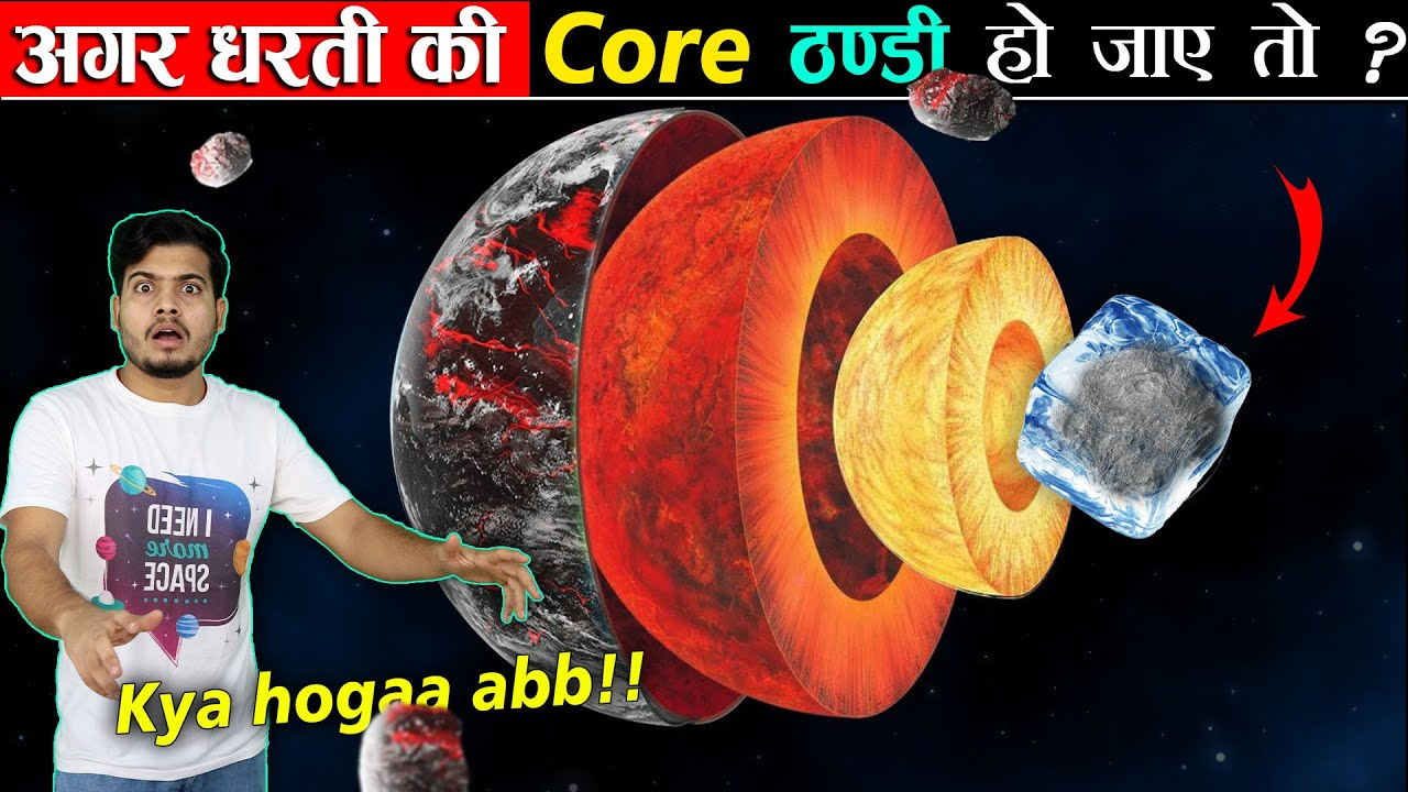 क्या होगा अगर धरती का Core ठंडा हो जाए तो ? What if Earth's core Cooled down ?