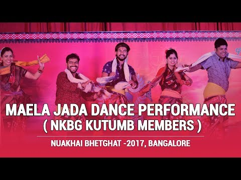 Maela Jada (Sambalpuri Dance Performance) By Nuakhai Bhetghat Kutumb Members