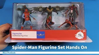 Spider-Man Figurine Set Hands On
