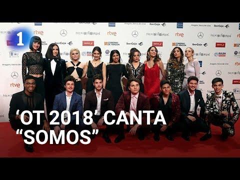 Los concursantes de 'OT 2018' cantan
