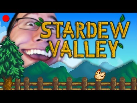 DEFINITELY NOT A PENIS | Stardew Valley LIVE