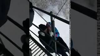 В Томске молодая пара разбилась с моста