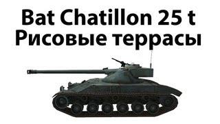 Bat Chatillon 25 t - Рисовые террасы