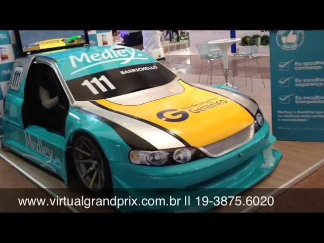 Simulador Stock-Car Medley - Econofarma 2013