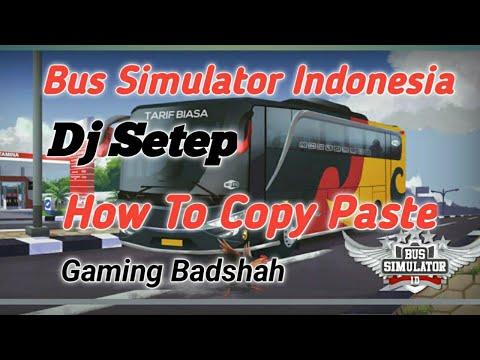 Bus Simulator Indonesia Dj Truck Mod File Download
