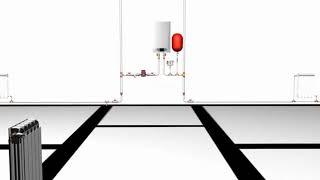 ОТОПЛЕНИЕ ДОМА: МОНТАЖ Металлопластик  Многоэтажка  Монтаж радиаторов