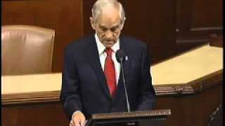 Ron Paul: The Last Nail - Floor Speech.