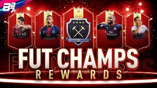 FUT CHAMPIONS REWARDS! FIRST RED IF PLAYER PICK PACKS! | FIFA 19 ULTIMATE TEAM