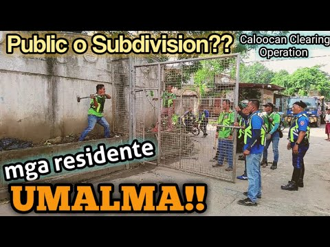 Caloocan Clearing Operation Brgy.164 | Mga residente umalma