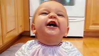 funny baby says first words – cute compilation