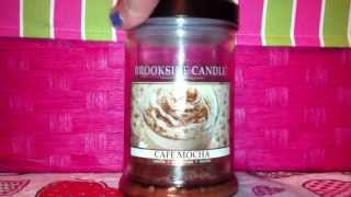 Brookside Candle Cafe Mocha Review