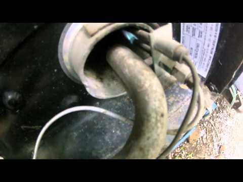 Lighting the camper hot water heater