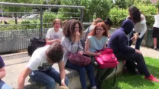 La classe de Mev du collège Maurice Clavel au festival Courts-métrages