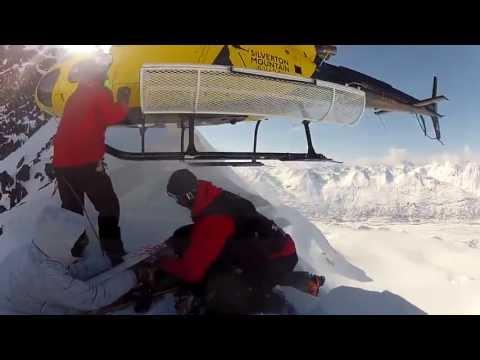 Heliboarding in Alaska