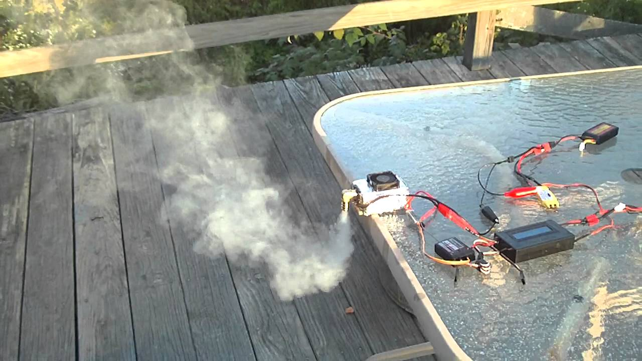 Mrrcsound Electric Rc Airplane Smoke Generator Prototype 2