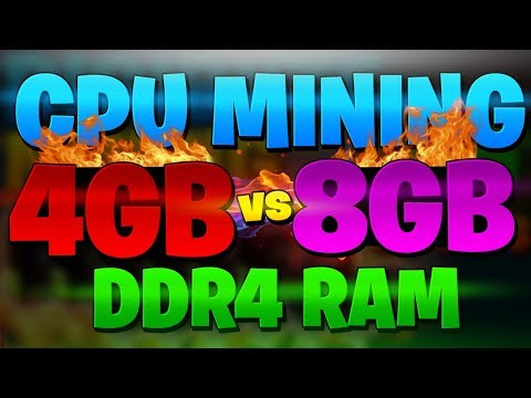 Does Ram Matter For CPU Mining ?