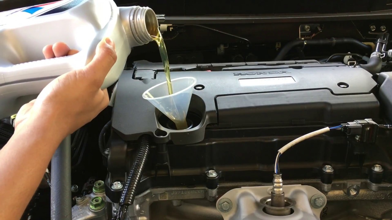 2017 Honda Accord I4 Oil Change Maintenance Light Reset Diy