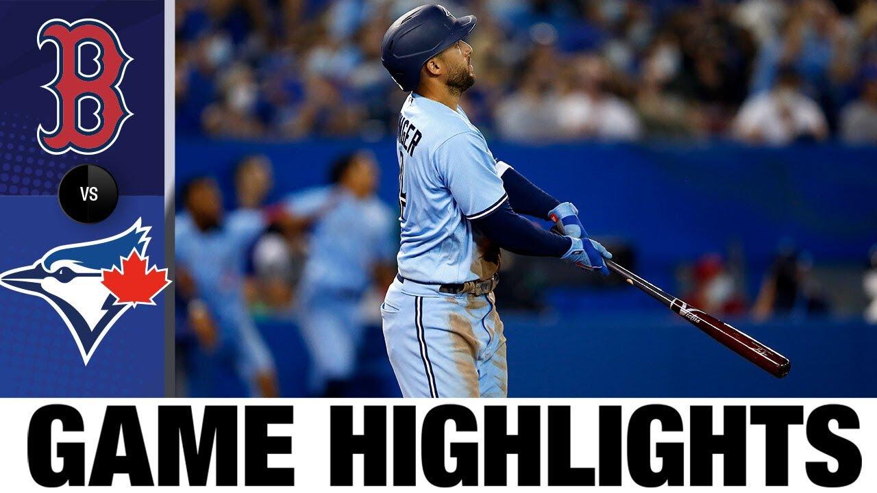 Download Red Sox vs. Blue Jays Game Highlights (8/8/21) | MLB Highlights