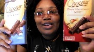 choceur milk chocolate milk creme and dark hazelnut crisp food review