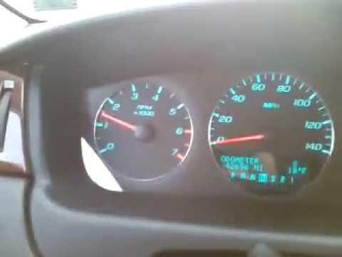 Traction control on a Chevy Impala - YouTube