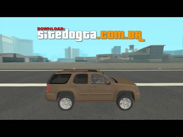 MOD GMC Yukon Denali 2007 GTA San Andreas