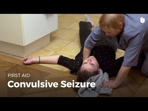 First Aid: Convulsive Seizure (Red Cross/Red Crescent)