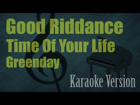 Greenday - Good Riddance (Time Of Your Life) Karaoke Version | Ayjeeme Karaoke