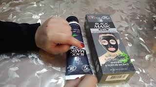 Face whitening charcoal peel off mask||YC charcoal face mask||charcoal black mask for men & Women