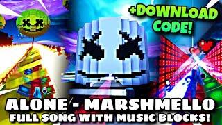 #Fortnite Alone Marshmello full + code !!