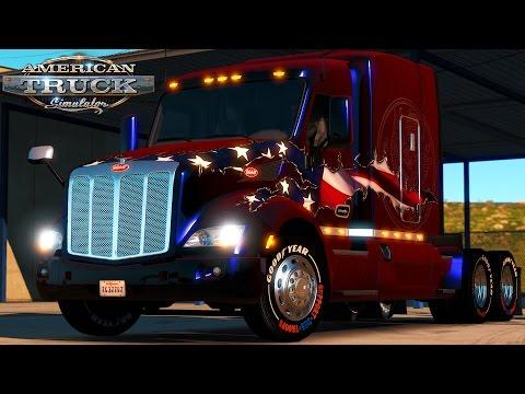 American Truck Simulator: Trump's Excavator - Washington DC To Baltimore - Headed To Mexico Border