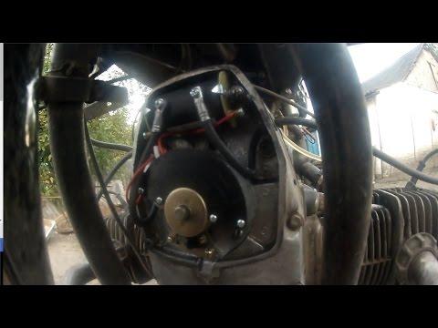 Задачка 3 Настройка микропроцессорного электронного зажигания на мотоцикле Днепр 11. МПБСЗ Совэк