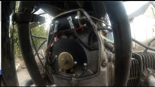 Задачка 3 Настройка микропроцессорного электронного зажигания на мотоцикле Днепр 11. МПБСЗ Совэк(Решил снять видео о том, как регулируется микропроцессорное электронное зажигание на мотоцикле Днепр 11...., 2014-10-02T11:20:47.000Z)