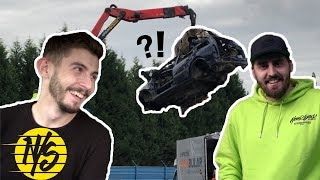 KUPUJEME AUTO Z VRAKÁČE? - Car Build EP01 / NEVERSTOCK
