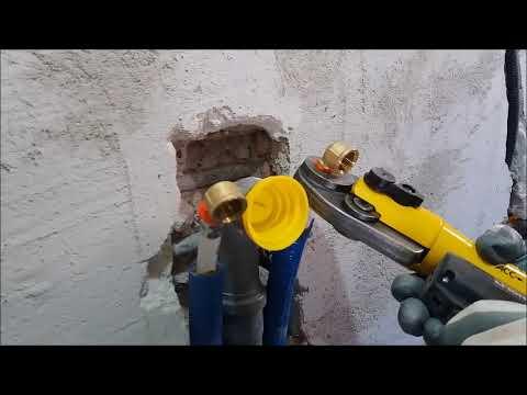 Impianto idrico bagno youtube