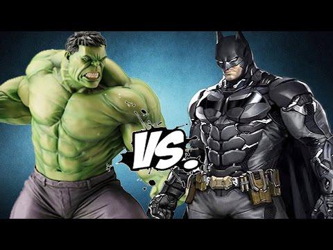 HULK VS BATMAN - EPIC BATTLE thumbnail