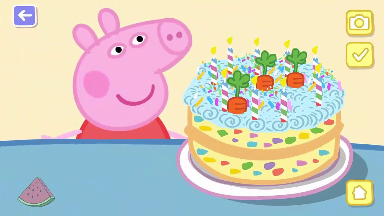 Peppa Pig Swimming Puzzles Baking Cooking
