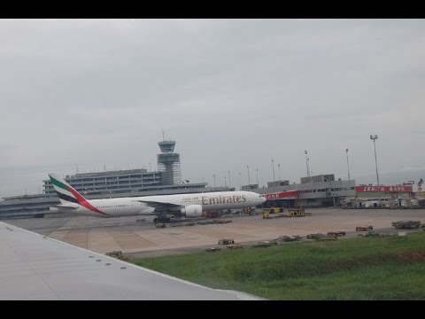 EK 782 TAKE-OFF MMIA LAGOS