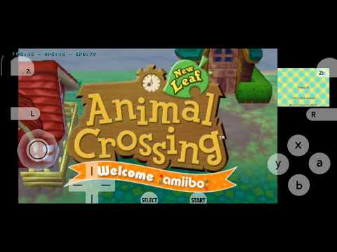 Animal Crossing New Leaf For Android | Citra MMJ 04/28 Build - 3DS Emulator Test