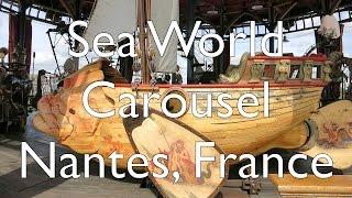 Sea World Carousel - Le Carrousel des Mondes Marins Les Machines de l'île, Le Voyage à Nantes