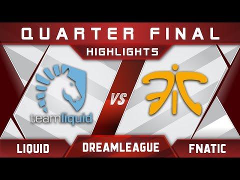 Liquid vs Fnatic DreamLeague 8 Major 2017 Highlights Dota 2
