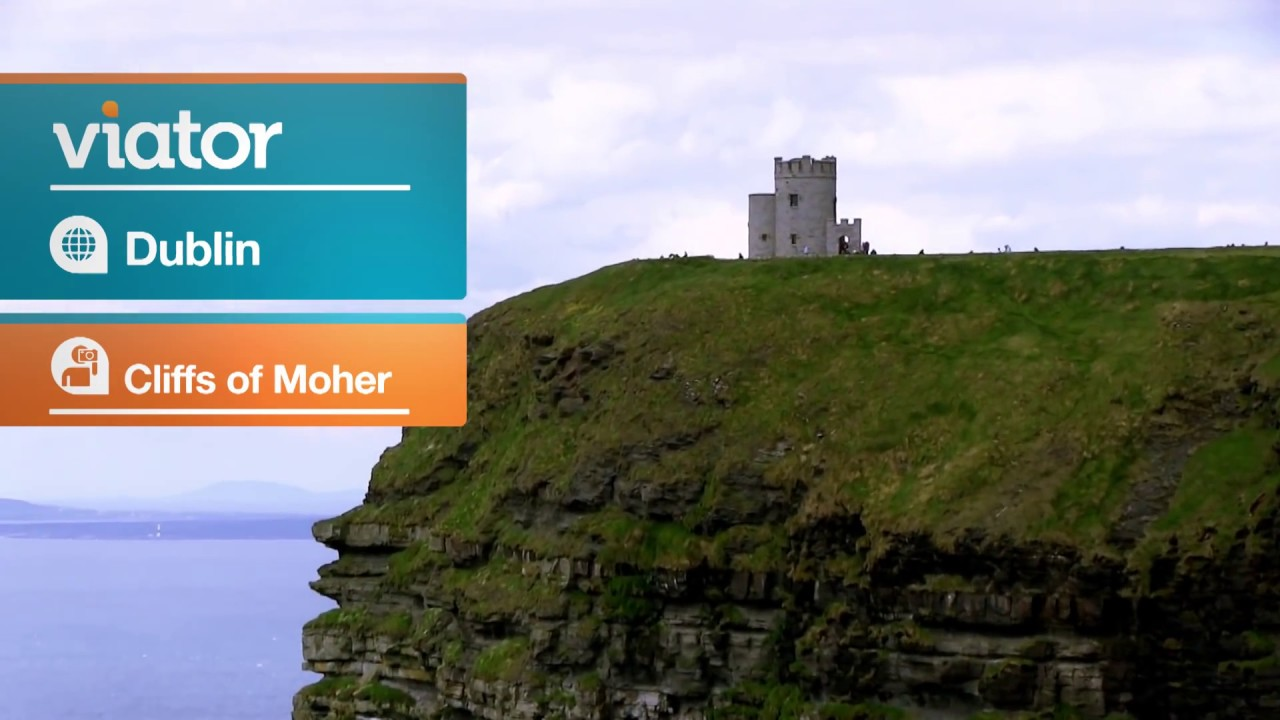 cliffs of moher day trip from dublin youtube