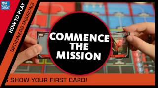 HOW TO PLAY - Marvel Missions Trading Card Game