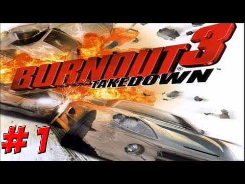 XBOX: Burnout 3! Part 1 - YoVideogames